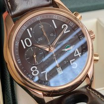 Frederique Constant Runabout Chronograph pre-owned 43mm Brown Chronograph Date Leather