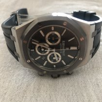 Audemars Piguet Royal Oak Chronograph Сталь 41mm Cерый Без цифр