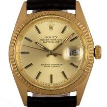 Rolex Rolex Datejust 1601 Желтое золото 1951 Datejust 36mm подержанные