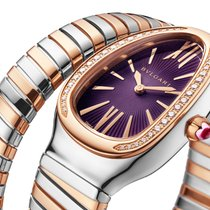 Bulgari Serpenti Gold/Steel 35mm Purple United States of America, Florida, Sunny Isles Beach