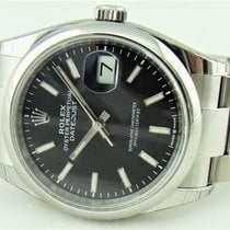 Rolex Datejust Steel 36mm Black No numerals United States of America, Illinois, Buffalo Grove