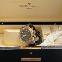 Vacheron Constantin Overseas Chronograph pre-owned Leather