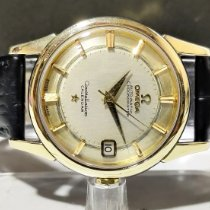 Omega Constellation pre-owned 34.50mm Silver Leather