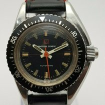 Universal Genève Steel 28mm Automatic 825604 pre-owned Singapore, Singapore