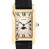 Cartier Tank Américaine Oro amarillo 31mm