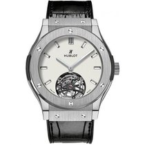 Hublot Classic Fusion 45, 42, 38, 33 mm Titanio 45mm Blanco
