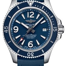 Breitling Superocean 42 new 2021 Automatic Watch with original box and original papers A17366D81C1S1