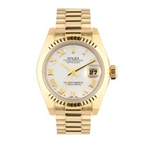 Rolex 179178 Or jaune 2006 Lady-Datejust 26mm occasion