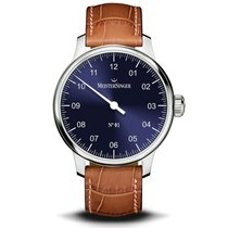 Meistersinger N° 01 new 2020 Automatic Watch with original box and original papers AM3308-SG03W
