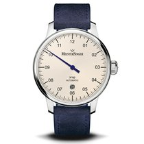 Meistersinger new Automatic Only Original Parts 40mm Steel Sapphire crystal