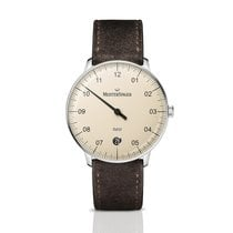 Meistersinger Steel Automatic Champagne Arabic numerals 36mm new Neo