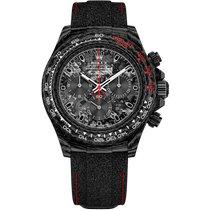 Rolex Carbon Automatic Black No numerals 40mm new Daytona