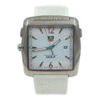 TAG Heuer Professional Golf Watch Titan 37mm Weiß Arabisch