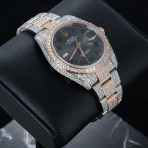 Rolex Datejust II Ouro/Aço 41mm