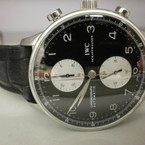 IWC Portuguese Chronograph pre-owned 41mm Chronograph
