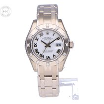 Rolex Lady-Datejust Pearlmaster new 2020 Watch with original box and original papers 80319-0077