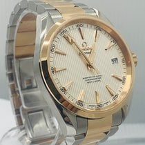 Omega Seamaster Aqua Terra Goud/Staal 41.5mm Wit Geen cijfers Nederland, Amsterdam