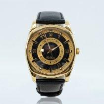 Rolex Cellini Danaos Κίτρινο χρυσό 38mm Μαύρο Xωρίς ψηφία