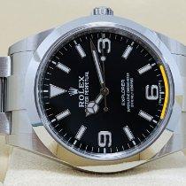 Rolex Explorer Acero 39mm Negro Arábigos