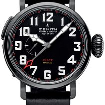 Zenith Pilot Type 20 GMT Titane 48mm Noir Arabes
