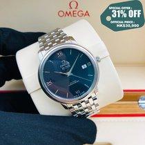Omega De Ville Prestige Acero 39.5mm Azul