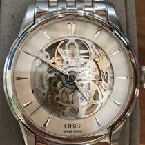 Oris Artelier Skeleton Steel 40mm Transparent