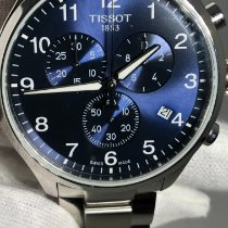 Tissot T-Sport pre-owned 45mm Blue Chronograph Date Steel