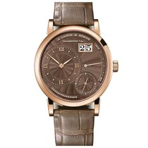 A. Lange & Söhne Rose gold Manual winding Brown Roman numerals 36.8mm new Little Lange 1