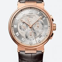 Breguet new Automatic 42.3mm Rose gold Sapphire crystal