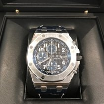 Audemars Piguet Royal Oak Offshore Chronograph Acier 42mm Noir Arabes France, Saint Barthélemy
