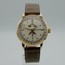 Omega Rose gold Manual winding White Arabic numerals 36mm pre-owned