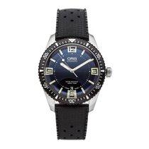 Oris Divers Sixty Five Steel 40mm Black No numerals