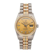 Rolex Day-Date 36 White gold 36mm Gold No numerals United States of America, Pennsylvania, Bala Cynwyd