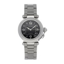 Cartier Pasha C Steel 35mm Black Arabic numerals United States of America, Pennsylvania, Bala Cynwyd
