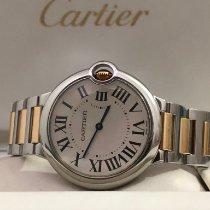 Cartier pre-owned Quartz 36mm White Sapphire crystal