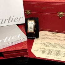 Cartier Tank (submodel) Tank Cintree Dual Time Zone 2768 Bom Ouro rosa 43mm Corda manual