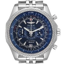 Breitling Bentley Supersports Acero 48.7mm Azul