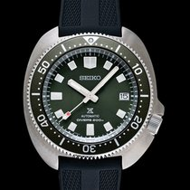 Seiko Prospex Steel 42.7mm Green United States of America, California, Burlingame