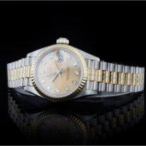 Rolex Lady-Datejust 26mm Champagnerfarben Keine Ziffern