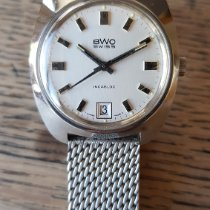 BWC-Swiss Acero 36mm Cuerda manual 833019 usados
