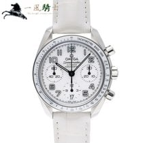 Omega Speedmaster Ladies Chronograph Acero 38mm Blanco