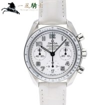 Omega Speedmaster Ladies Chronograph Сталь 38mm Белый