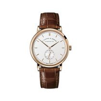 A. Lange & Söhne Red gold Manual winding Silver 37mm new Saxonia