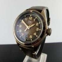 TAG Heuer Bronze Automatik Braun Arabisch 42mm neu Autavia