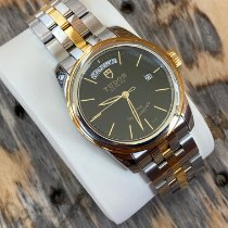 Tudor Glamour Date-Day Gold/Steel 39mm Black