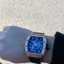 Richard Mille RM 030 Rose gold 50mm Transparent No numerals