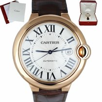 Cartier Ballon Bleu 42mm Rose gold 42mm Roman numerals United States of America, New York, Smithtown