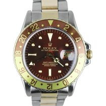 Rolex 1675 Gold/Steel GMT-Master 40mm pre-owned