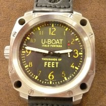 U-Boat Thousands of Feet Steel 50mm Black Arabic numerals