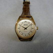 Atlantic Steel Manual winding Champagne No numerals 27mm new